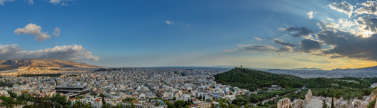 The city of Athens Greece.