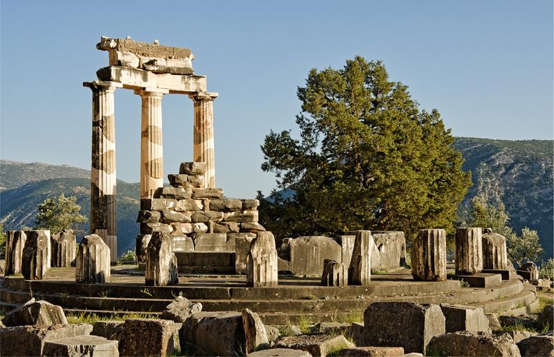 Tholos at the Sanctuary of Athena, Delphi, Greece