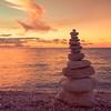 Rock-Pile Sunset