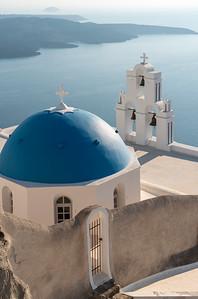 Firostefani Church, Santorini