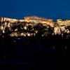 Night panoramic view of Acropolis