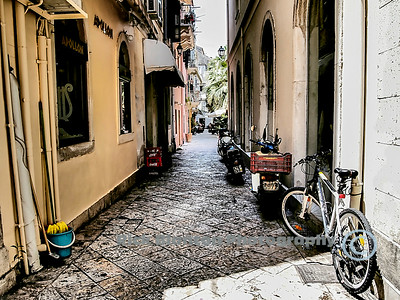 """ Back Alley in Corfu """