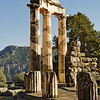 Tholos at the Sanctuary of Athena, Delphi, Greece