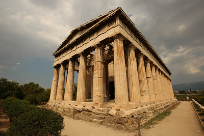 Temple of Hephaestus, Ancient Agora of Athens, Athens, Greece