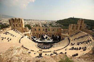 Odeon of Herodes Atticus, Acropolis of Athens, Athens, Greece
