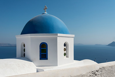 Blue-domed Church, Santorini