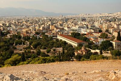 Stoa of Attalos, Ancient Agora of Athens, Athens, Greece