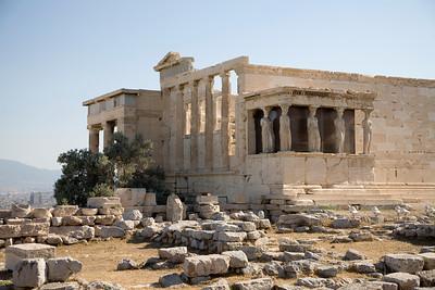 The Parthenon.  Athens, Greece. A UNESCO World Heritage site.