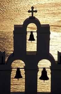 Belfry at Sunset, Santorini