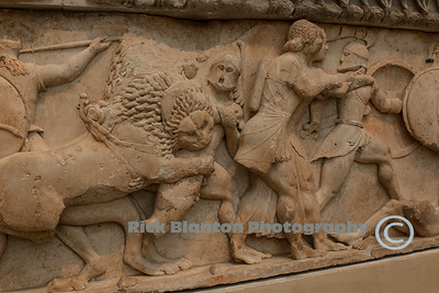 Relief in the Museum in Delphi