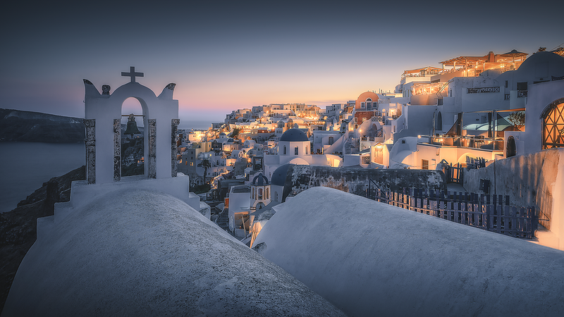 Goodnight Santorini