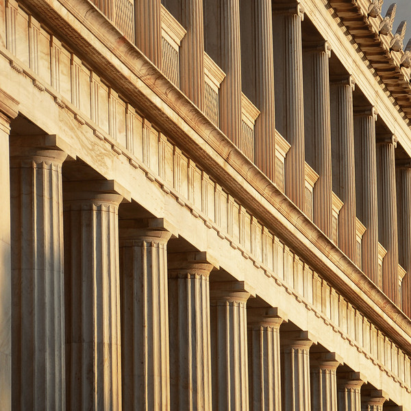 Greek Architecture at the Stoa of Attalos. 2017.
