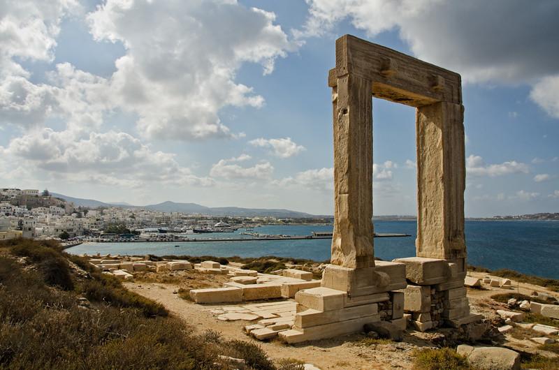 Temple of Apollo, Island of Naxos, Greece