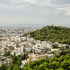 View of Athens, Greece, from the Acropolis