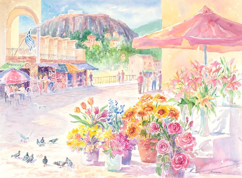 The Athens Market