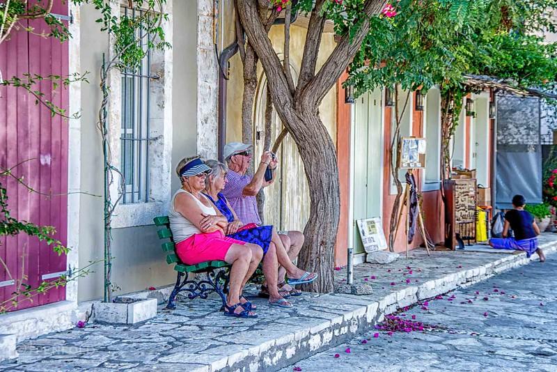 Fiskardo Tourists