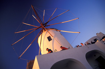 Windmill Restaurant, Santorini