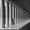 Woman and Column, Agora Museum