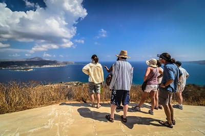 Looking out at Souda Bay, Chania