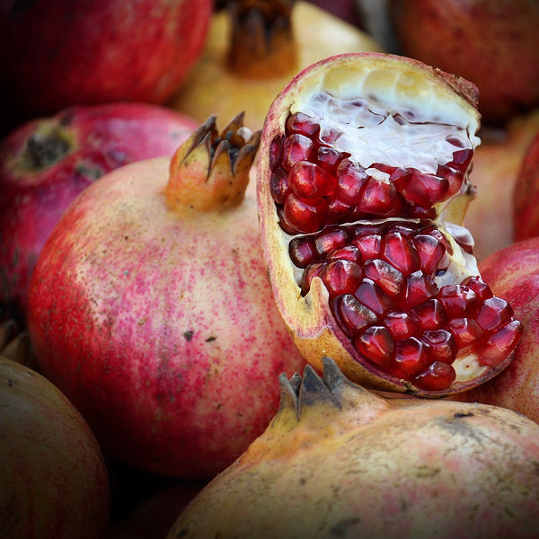 Greek Pomegranates. 2017.