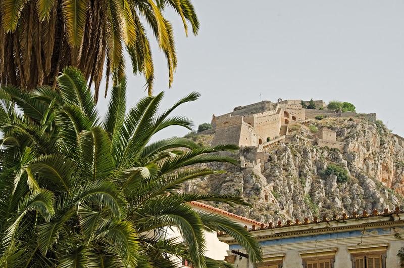 Palamidi fortress, Nafplio, Greece