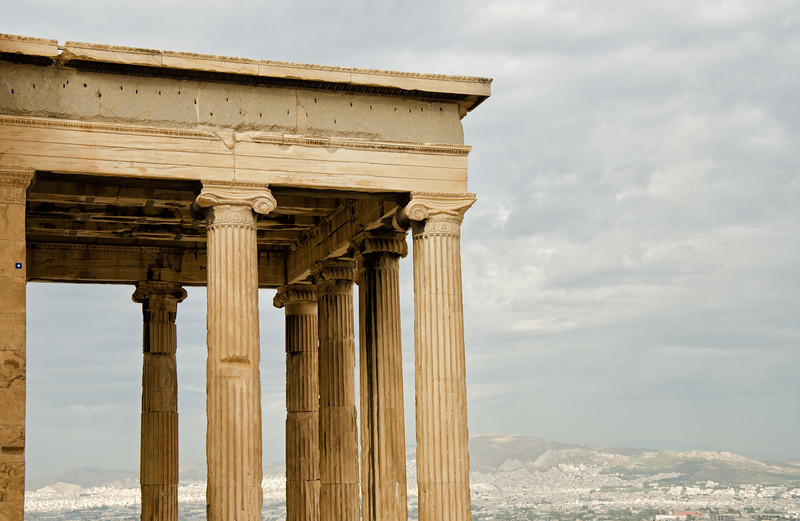 On the Acropolis, Athens, Greece