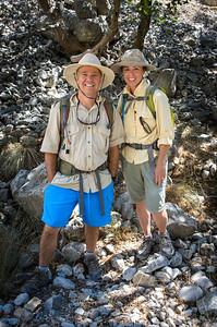 Hiking the Agia Aredena Gorge