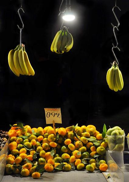 Fruit Vendor in Monastiraki. 2017.
