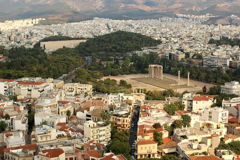 Temple of Olympian Zeus, Athens, Greece