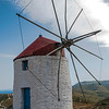 Windmills, Amorgos, Hora, Greece