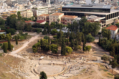 Theatre of Dionysus, Acropolis of Athens, Athens, Greece