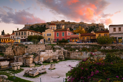 Plaka in Athens