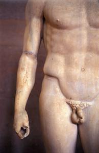 Nude Male Statue, Corinth Museum