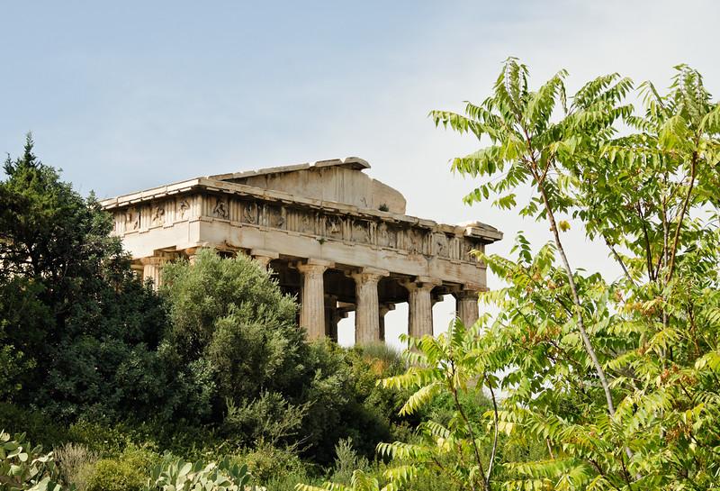 On the Acropolis, Athens, Greece