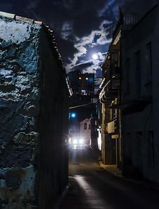 Night scene in Chania