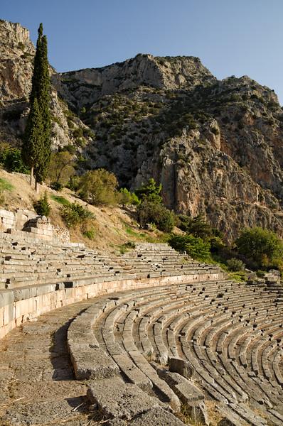 Theater at the Sanctuary of Apollo, Delphi, Greece