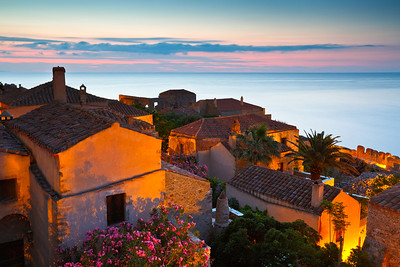 Monemvasia village in Peloponnese