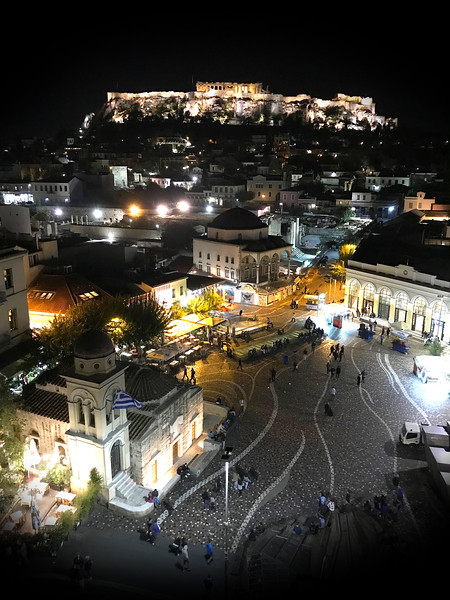 Athens at Night. 2017.