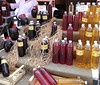 Honey in several hues at the Ermioni market