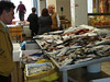 How Greeks buy fish (flies and all)