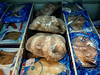 Suction cups for lunch, anyone?  Frozen octopus in the convenience store.