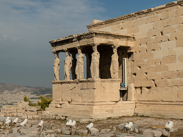 Old Temple of Athena, Athens, Greece