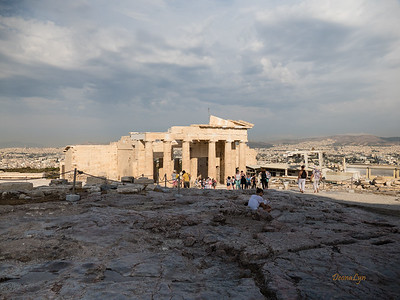 The Propylaea, Athens, Greece