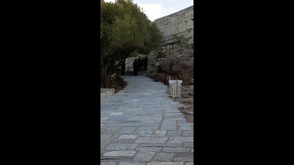 Changing of the Guard at The Acropolis