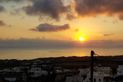 Sunrise, Santorini, Greece