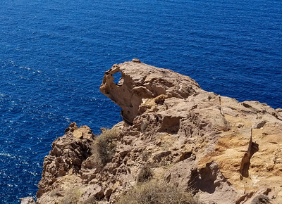 Akrotiri Lighthouse - cat shaped rock formation