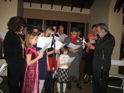 Christmas Dinner - December 2006