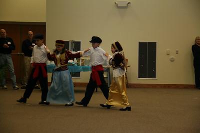 Greek Dancing @ Lutheran Church - March 2011