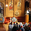 Holy Trinity Greek Orthodox Church before Greek Independence Parade. (The Sun / Chris Tierney)