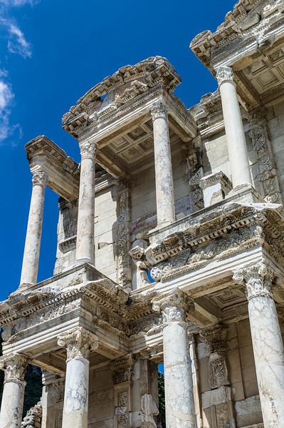 Library Ephesus Turkey<br /> Leica M9 + Tri-Elmar MATE